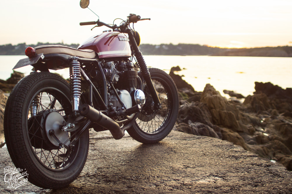 honda cb 550 four cafe racer
