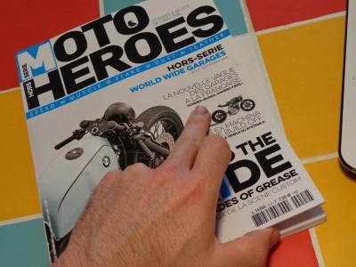 Magazine Moto Heroes hors série Garage aout-septembre 2015
