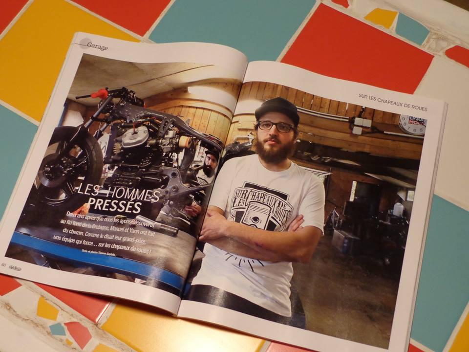 Magazine Cafe Racer numéro 77 septembre-octobre 2015