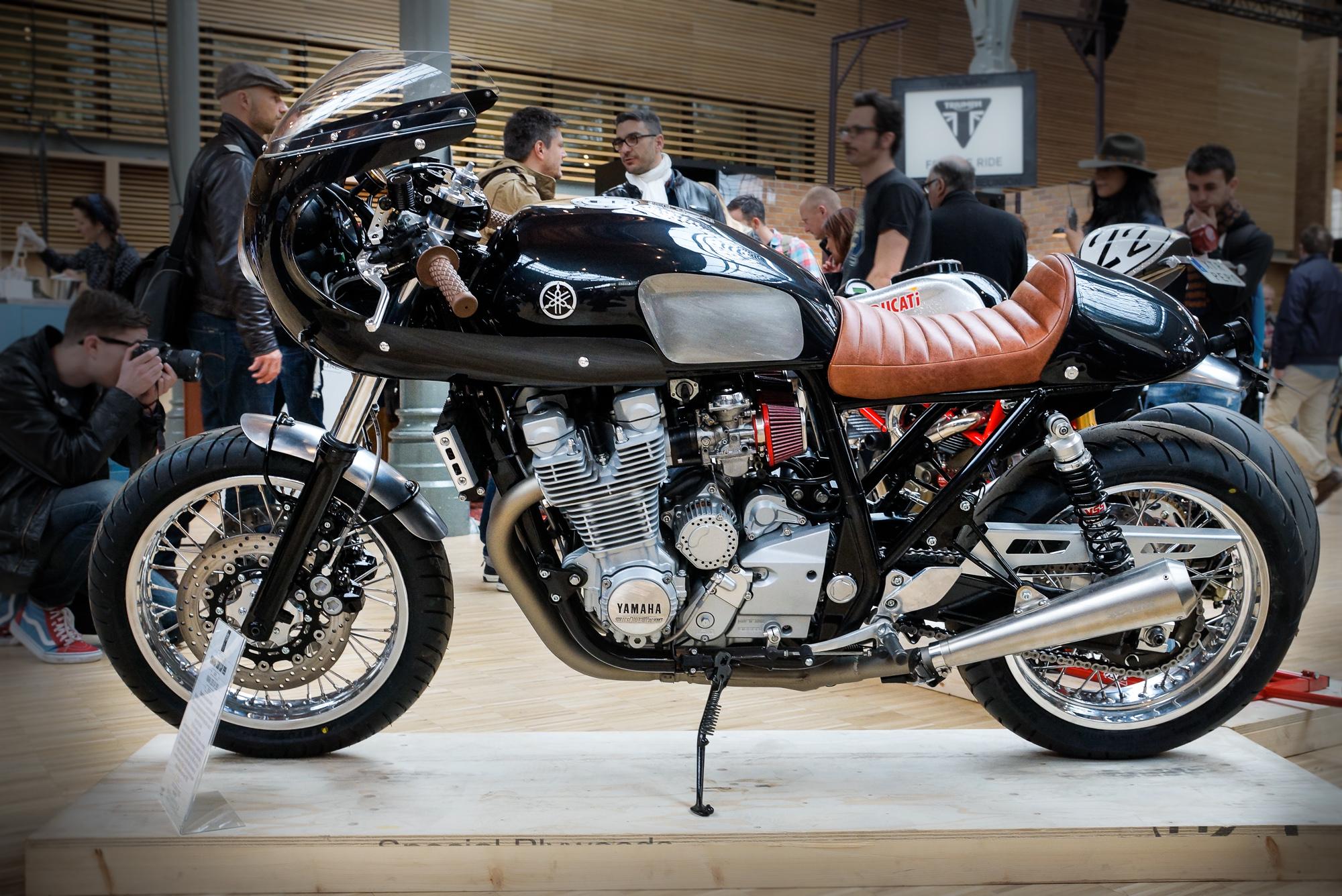 photo de notre préparation de Yamaha 1300 XJR de 1999
